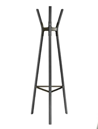 STEELWOOD COAT-STAND WHIT/LEGS BEECH NAT