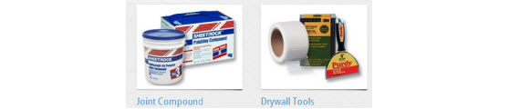 Drywall Compounds & Tools