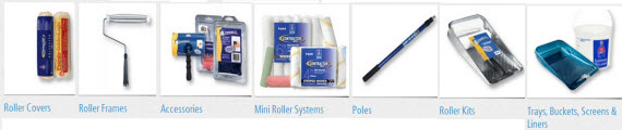 Roller Covers, Frames & Accessories