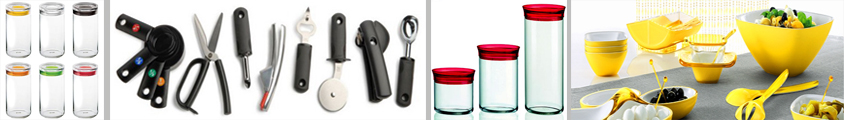 Food Containers, Storage, Gadgets and Utensils